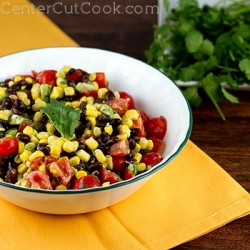 Corn, Black Bean, Avocado, and Tomato Salad