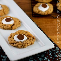 S'more Cookies with Peanut Butter