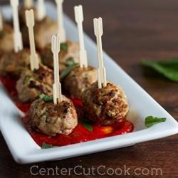 Turkey Ricotta Meatballs