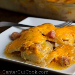 Cheesy Scalloped Potato Casserole