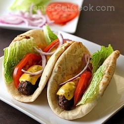 Cheeseburger Flatbreads