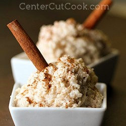 Stovetop Cinnamon Rice Pudding