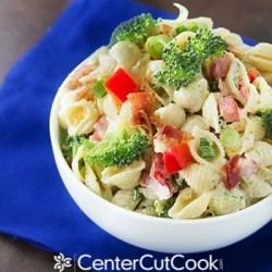 Easy Ranch Pasta Salad