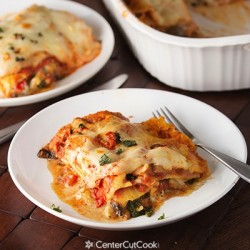 Hearty Cheesy Vegetable Lasagna!