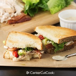 Chicken, Bacon & Blue Cheese Sandwiches