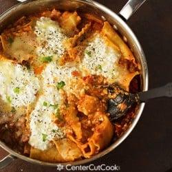 Spicy Skillet Lasagna