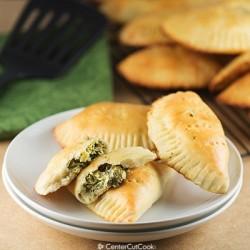 Creamy Artichoke Spinach Pockets