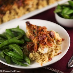 Maple Bacon Dijon Chicken