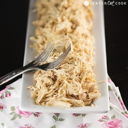 Easy Slow Cooker Shredded Chicken