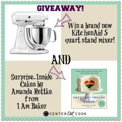 KitchenAid Mixer + Surprise-Inside Cakes Giveaway!