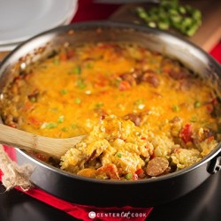 Cheesy Chicken and Rice Casserole