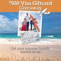 $500 Visa Giftcard Giveaway!