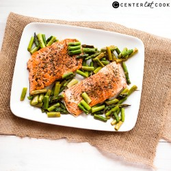 One Pan Herb-Roasted Salmon