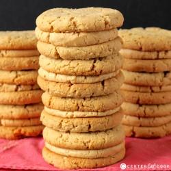 Peanut Butter Sandwich Cookies {Girl Scout Copycat}