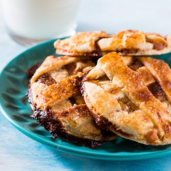 Caramel Apple Pie Cookies