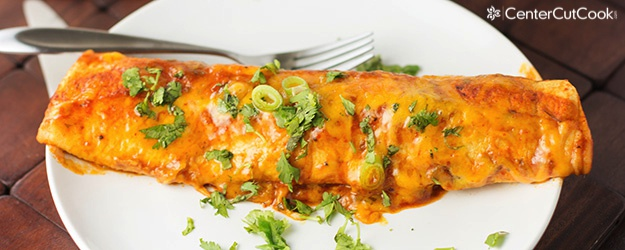 cheese and beef enchiladas