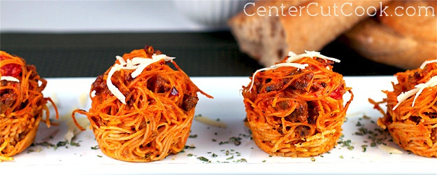 Italian Love Nests (Cheesy Pasta Cups)