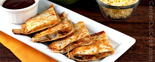 BBQ Ranch Chicken Quesadilla