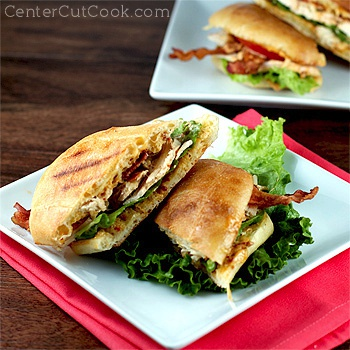 Chicken club sandwich chipotle mayo 2