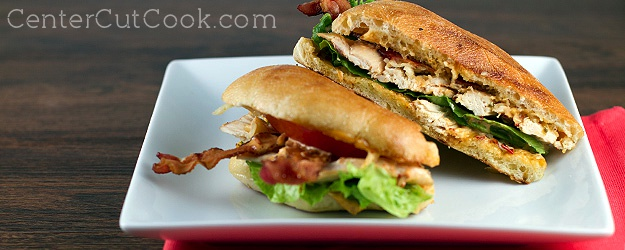 Chicken club sandwich chipotle mayo