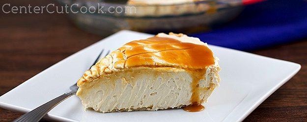 Salted caramel pie