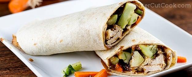 Thai crunch wrap