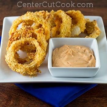 Crispy Baked Onion Rings Recipe