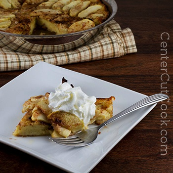 German apple pancake 2