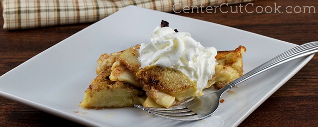 Apple Cinnamon German Pancakes