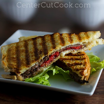 Havarti and roast beef panini 2