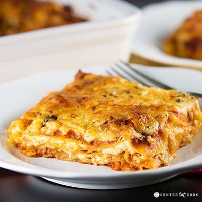 Classic lasagna 2