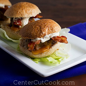 Grilled sliders 2