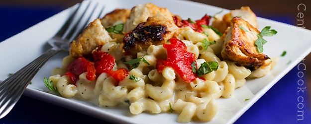 Herbed havarti macaroni and cheese