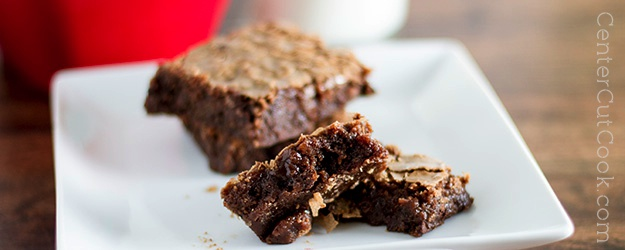 Triple Chocolate Chewy Brownies