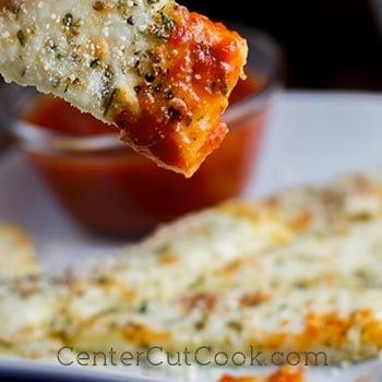 Cauliflower bread sticks 2
