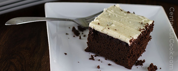 Chocolate cake buttercream frosting