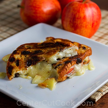 Havarti and apple sandwiches 2