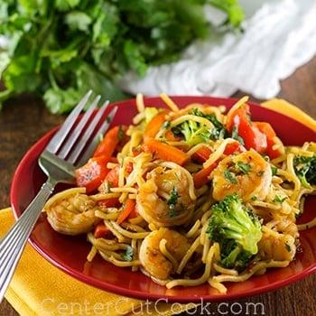 Spicy shrimp stir fry 2