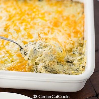 Warm Spinach Artichoke Dip Recipe