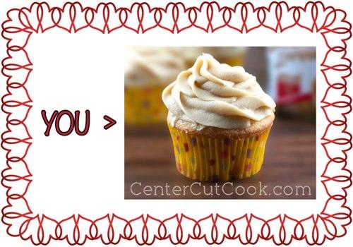 Cupcake valentine 1