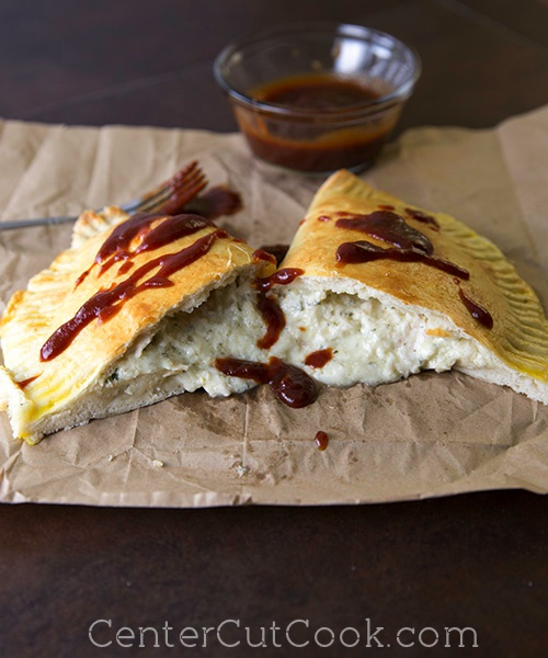 BBQ Chicken Calzones 6