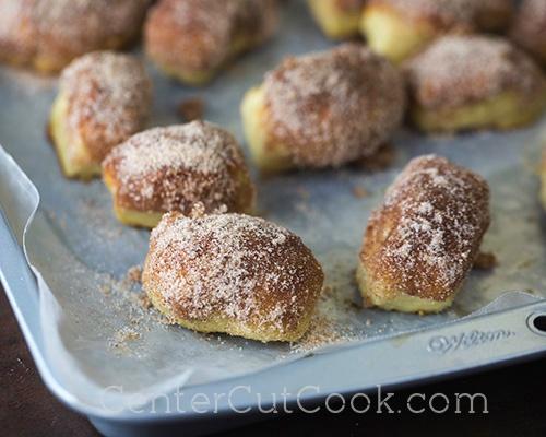 Cinnamon Sugar Pretzel Bites 8