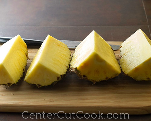 How to cut a pineapple 6