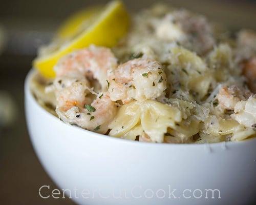 Shrimp scampi pasta 4