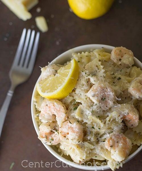 Shrimp scampi pasta 5