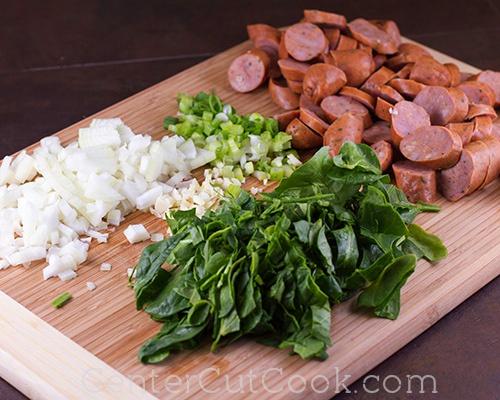 Spicy sausage skillet 4
