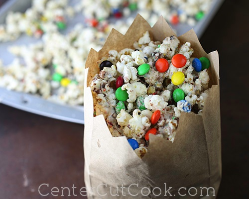 White chocolate popcorn 5