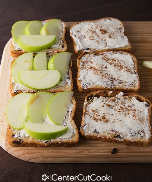 Apple Raisin Bread Sandwich 4