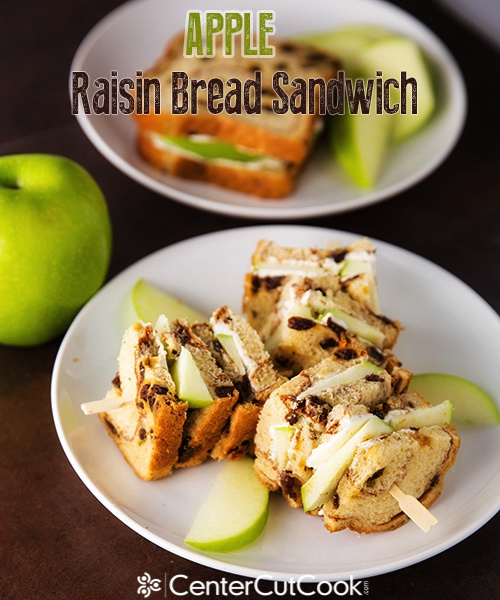 Apple Raisin Bread Sandwich 6
