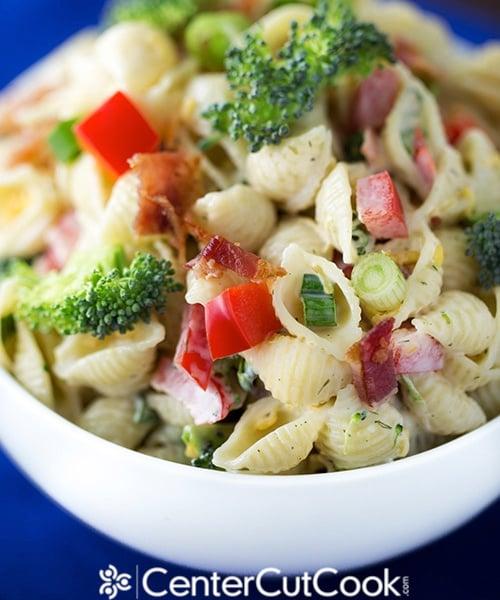 Easy Ranch Pasta Salad Recipe